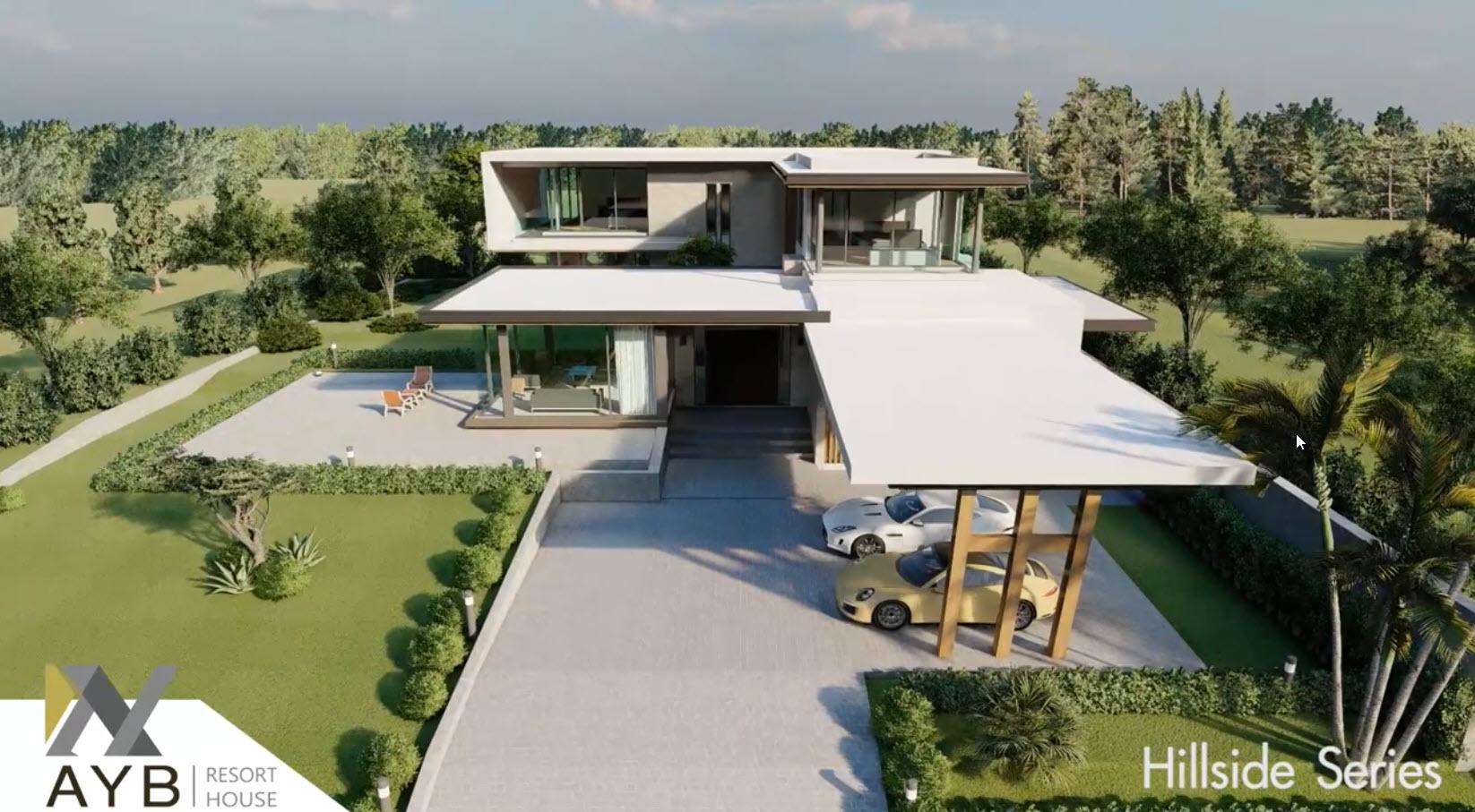 AYB Hot Deal 2020 - แบบบ้าน Hillside