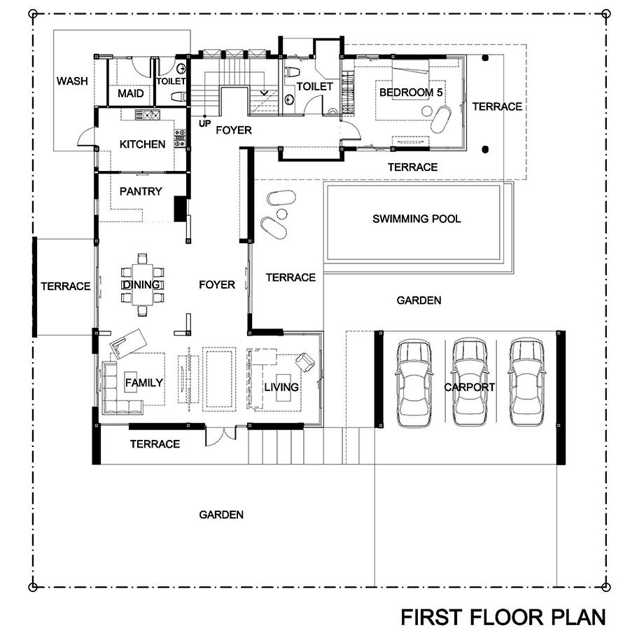 New C House - fl.1